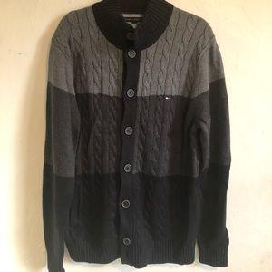 Tommy Hilfiger Men's Cardigan Sweater Size XL